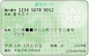 xm 通知カード