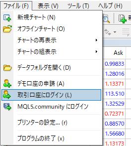 mt4 login